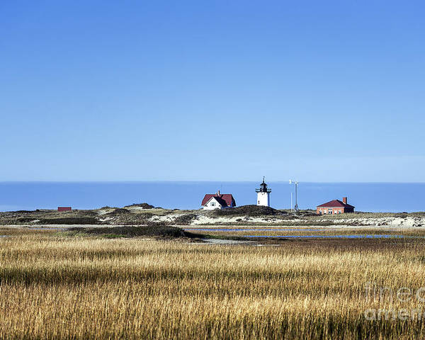 Cape Cod Poster featuring the photograph Race Point Lighthouse by John Greim