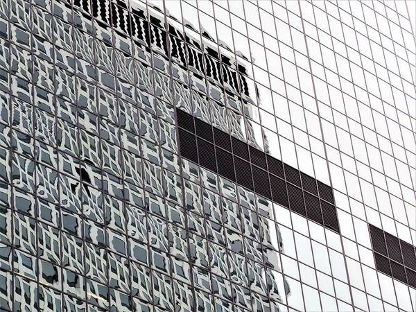 Glass Building Poster featuring the photograph Reflections by Barbara Ebeling