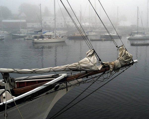 Boats Poster featuring the photograph Sailing On Hold by Neil Doren