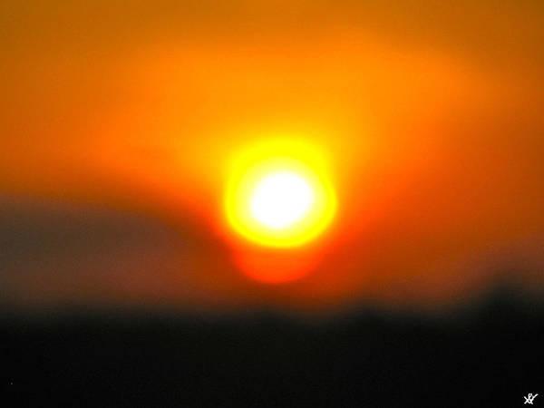 Sundrop Poster featuring the photograph Sundrop by Debra   Vatalaro