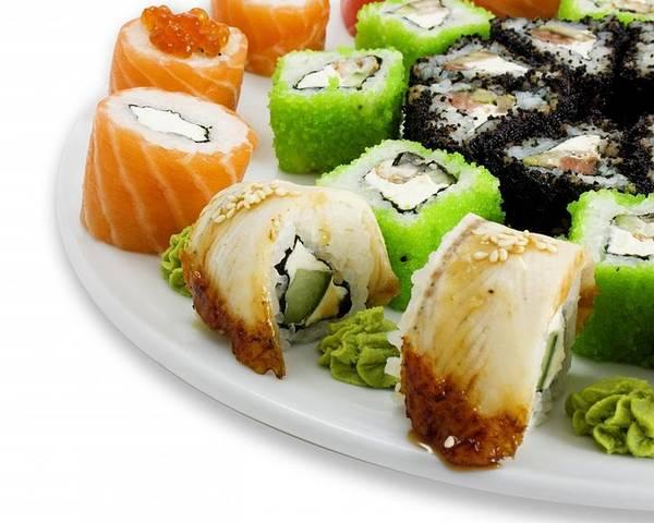 Качественные роллы и суши