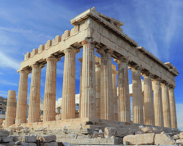 Acropolis Poster featuring the photograph The Parthenon Acropolis Athens Greece by Ivan Pendjakov