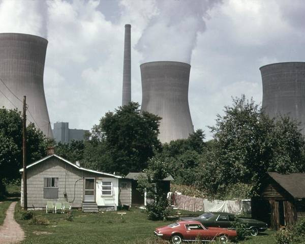 History Poster featuring the photograph Water Cooling Towers Of The John Amos by Everett
