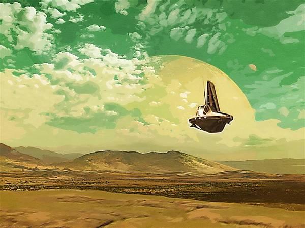Star Wars Darth Vader Poster featuring the digital art Star Wars Episode Art by Larry Jones