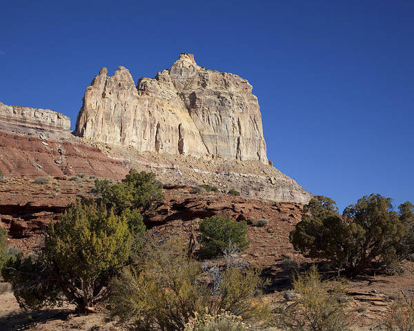 Red Rock Poster featuring the photograph San Rafael Swell by Mark Smith