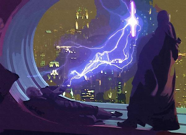 R2d2 Star Wars Poster featuring the digital art Star Wars Galaxies Art by Larry Jones