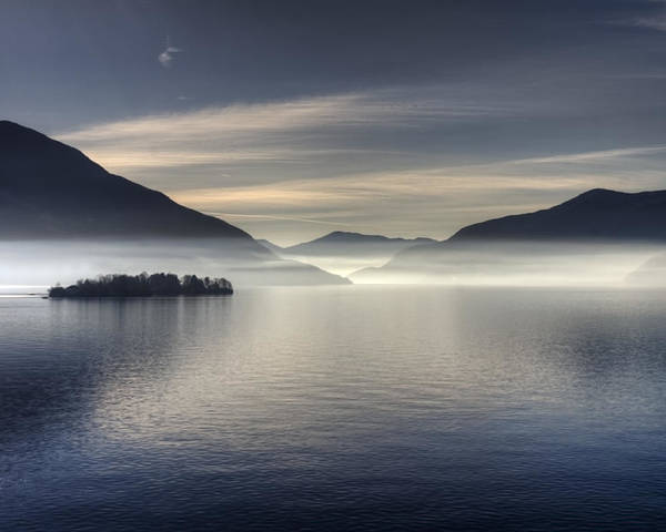 Travel Poster featuring the photograph Lake Maggiore by Joana Kruse