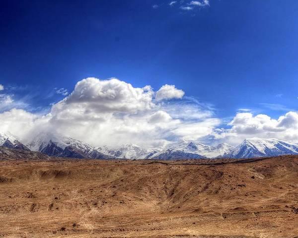 Xinjiang Province China Poster featuring the photograph Xinjiang Province China by Paul James Bannerman