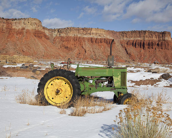 Americana Poster featuring the photograph Capitol Reef National Park by Mark Smith