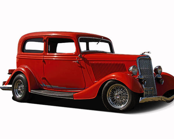 1934 Poster featuring the photograph 1934 Ford 2 Door Sedan by Nick Gray