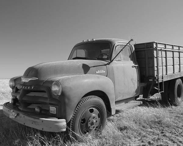 Poster featuring the photograph 1953 Chevy Bobtail Truck by Bill Hyde