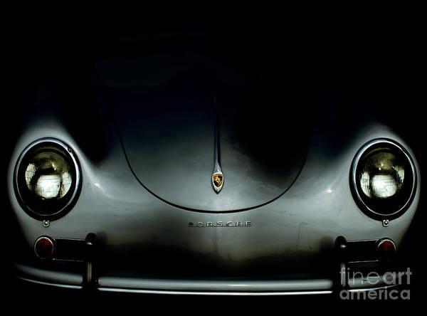Porsche Poster featuring the photograph 1957 Porsche Speedster by Steven Digman