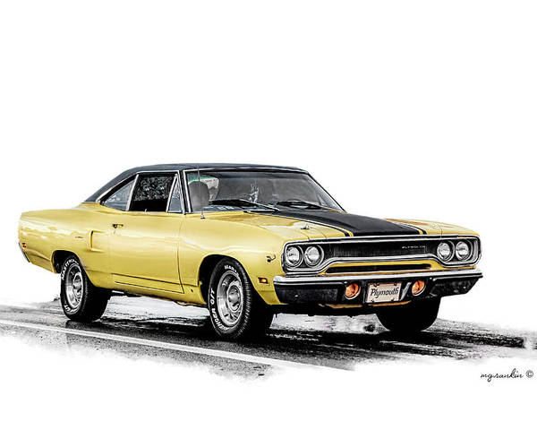 Phenomenal 1970 Plymouth Roadrunner Yellow 1970 Poster Pdpeps Interior Chair Design Pdpepsorg