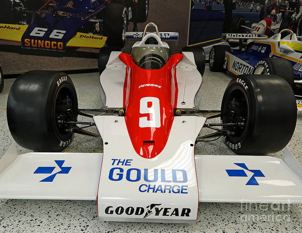 Indianapolis Poster featuring the photograph 1979 Indy 500 Winning Car Of Rick Mears by Steve Gass
