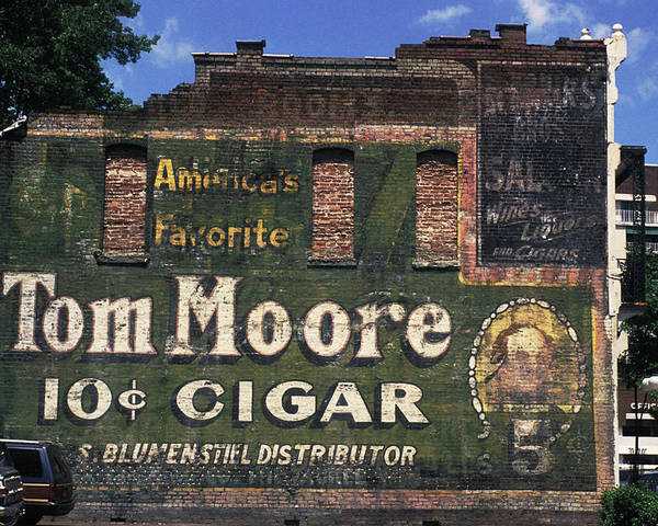 Cigar Poster featuring the photograph 10 Cent Cigar by Carl Purcell
