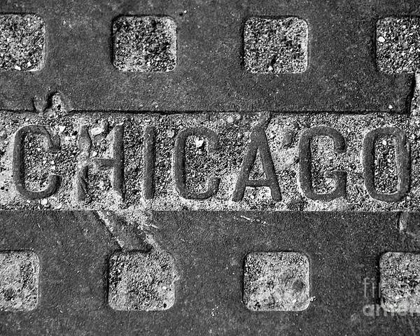 Chicago. Poster featuring the photograph Chicago by Jeff Lewis