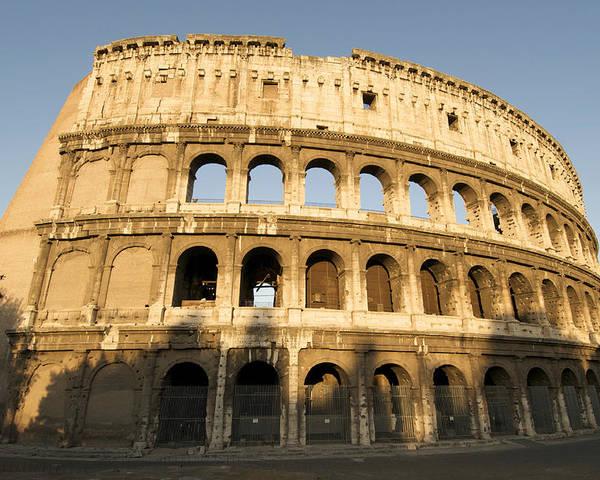 Tourism Poster featuring the photograph Coliseum. Rome by Bernard Jaubert