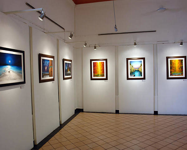 Exhibition Cozumel Museum Poster featuring the photograph Exhibition Cozumel Museum by Angel Ortiz