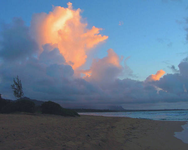 Dawn Poster featuring the photograph Kauai Dawn by Stephen Vecchiotti