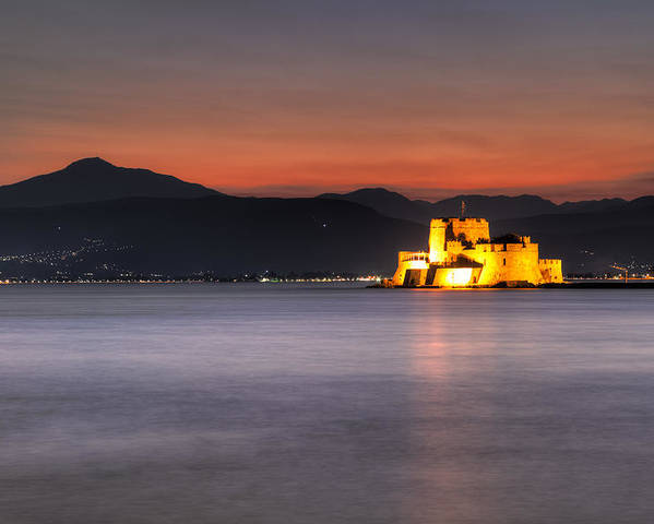 Ancient Poster featuring the photograph Nafplio - Greece by Constantinos Iliopoulos