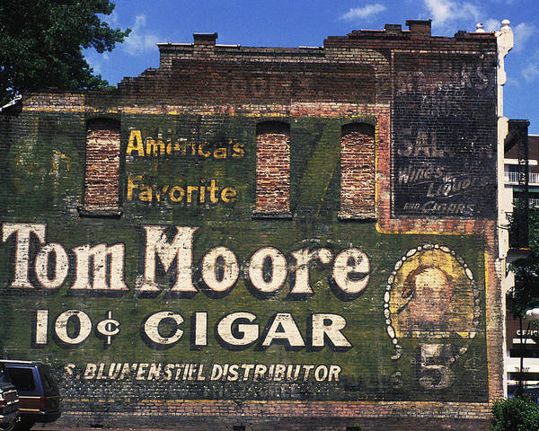 America's Favorite Poster featuring the photograph 10 Cent Cigar by Carl Purcell