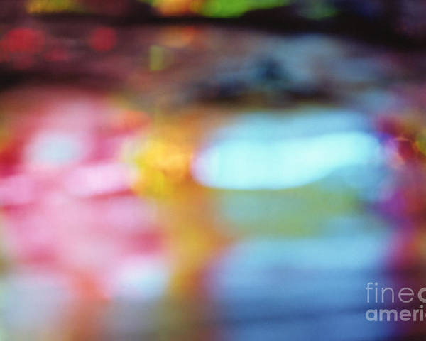 Abstract Poster featuring the photograph Abstract by Tony Cordoza