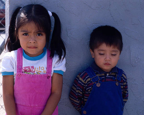 Juarez Poster featuring the photograph Cuidad Juarez Mexico Color From 1986-1995 by Mark Goebel