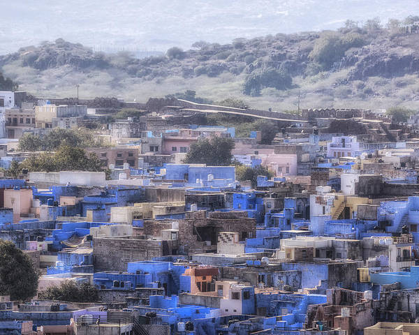 Jodhpur Poster featuring the photograph Jodhpur - India by Joana Kruse
