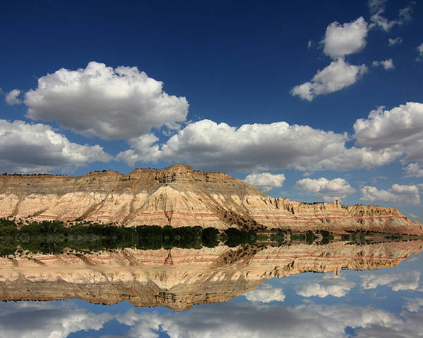 Arches National Park Poster featuring the photograph Red Rock Reflections by Mark Smith