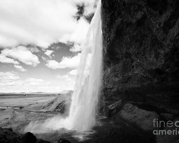 Seljalandsfoss Poster featuring the photograph Seljalandsfoss Waterfall Iceland by Joe Fox