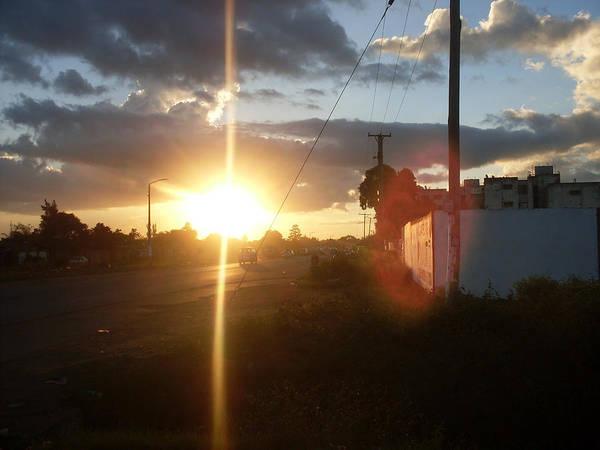 Sunset Poster featuring the photograph Sunset by Mungulasu Gobah