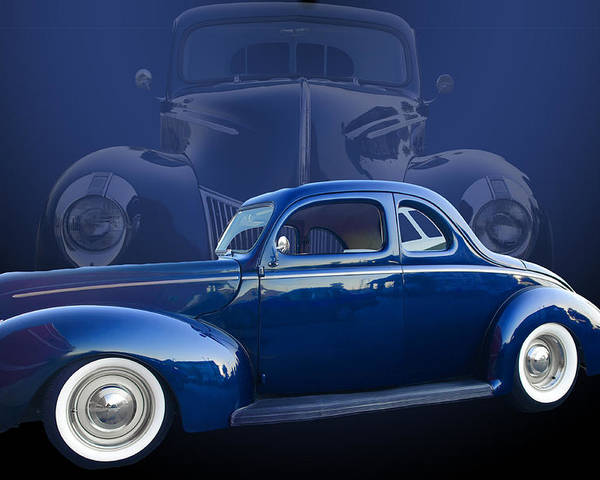 40 Poster featuring the photograph 40 Ford Coupe by Jim Hatch