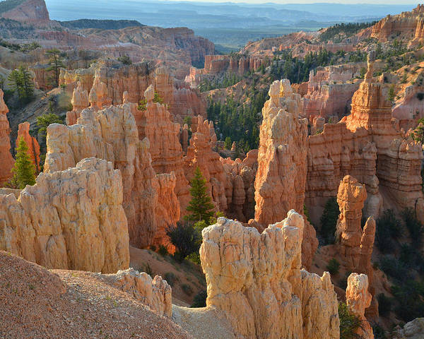 Bryce Canyon National Park Poster featuring the photograph Fairyland Canyon by Ray Mathis