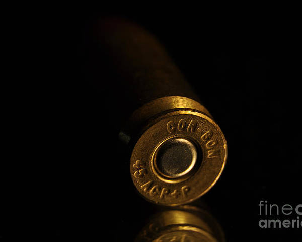 .45 Poster featuring the photograph 45 Apc by Crystal J Harwood