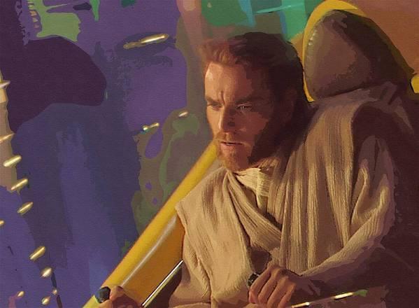 Star Wars Episode 3 Poster featuring the digital art Star Wars 3 Art by Larry Jones