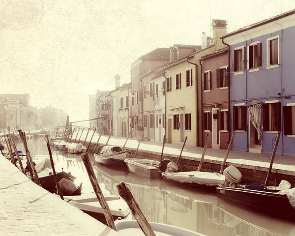 Burano Poster featuring the photograph Burano by Joana Kruse
