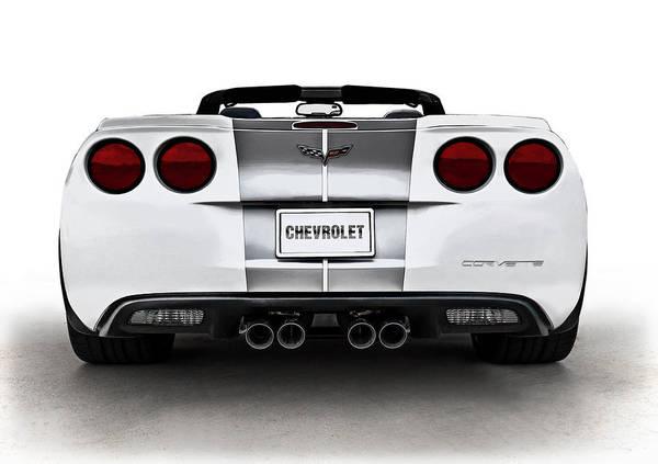 60th Anniversary Corvette Poster By Douglas Pittman