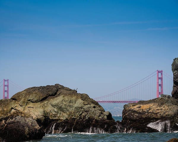 San Francisco Poster featuring the photograph Golden Gate Bridge by Jayasimha Nuggehalli