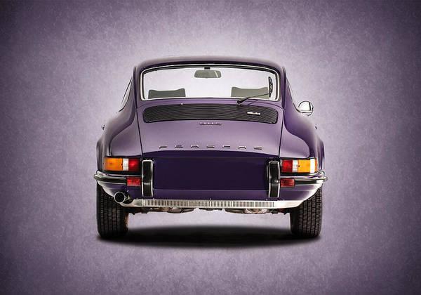 Porsche Poster featuring the photograph 73 Porsche 911 by Mark Rogan