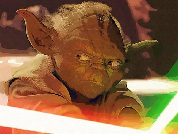 Star Wars Vader Poster featuring the digital art Original Star Wars Poster by Larry Jones