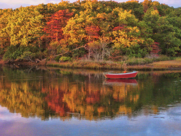 Autumn Poster featuring the photograph Autumn Reflection by JAMART Photography
