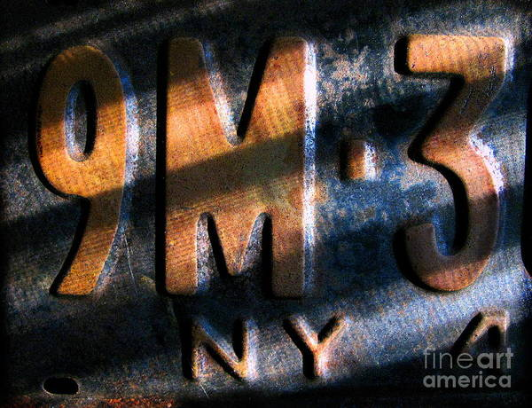 Cars Poster featuring the photograph 9 M by Colleen Kammerer