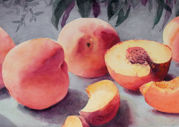 Still Life Poster featuring the painting A Bumper Crop by Faye Ziegler