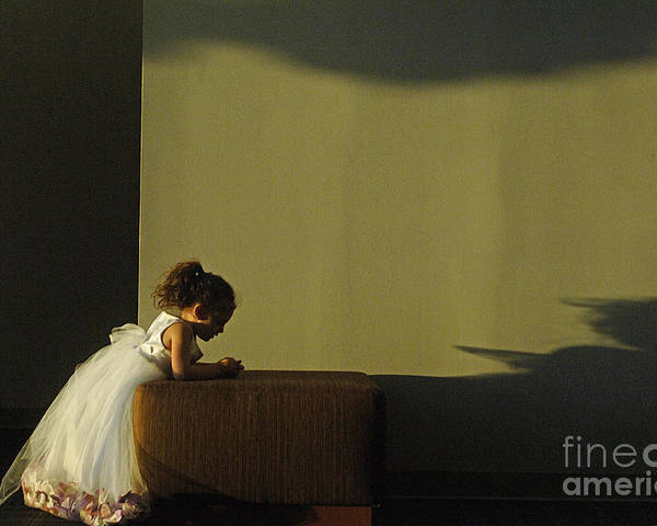 Child Poster featuring the photograph A Child's Prayer by Gib Martinez