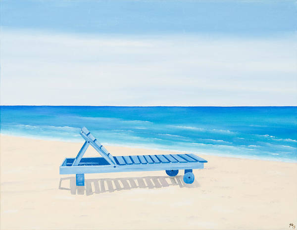 Belize Poster featuring the painting A Relaxing Day by Sandra Lorant