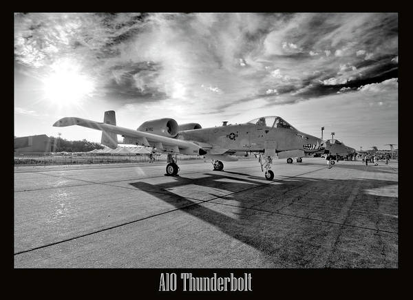 Airshow Poster featuring the photograph A10 Thunderbolt by Greg Fortier