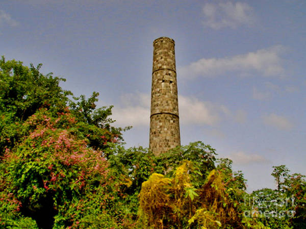 Nevis Poster featuring the photograph Abandoned Sugar Factory Nevis by Louise Fahy