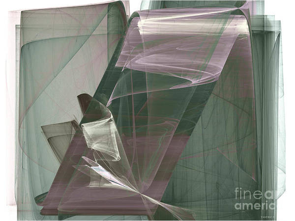 Elegance Poster featuring the photograph Abstract - Elegance by Ganesh Barad