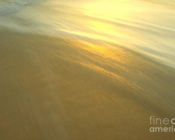 Beach Poster featuring the photograph Abstract Beach by Sven Brogren