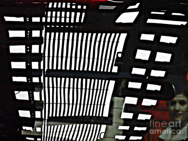 Abstract Poster featuring the photograph Abstract Reflection 16 by Sarah Loft